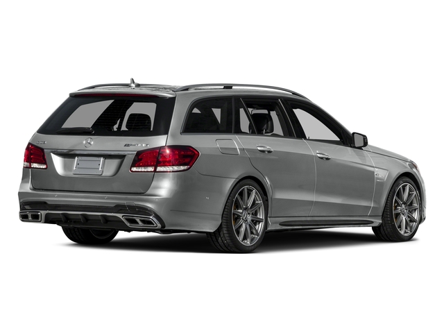 2015 Mercedes-Benz E-Class Prices and Values Wagon 4D E63 AMG S AWD V8 Turbo side rear view