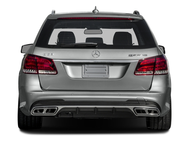 2015 Mercedes-Benz E-Class Prices and Values Wagon 4D E63 AMG S AWD V8 Turbo rear view