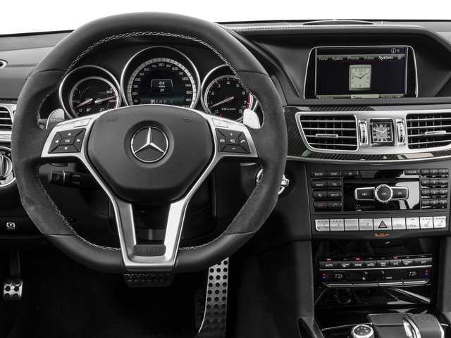 2015 Mercedes-Benz E-Class Prices and Values Wagon 4D E63 AMG S AWD V8 Turbo driver's dashboard