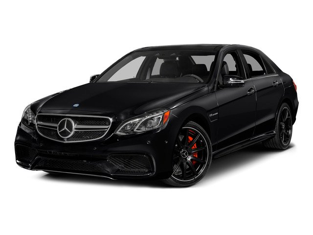 2015 Mercedes-Benz E-Class Prices and Values Sedan 4D E63 AMG AWD V8 Turbo side front view