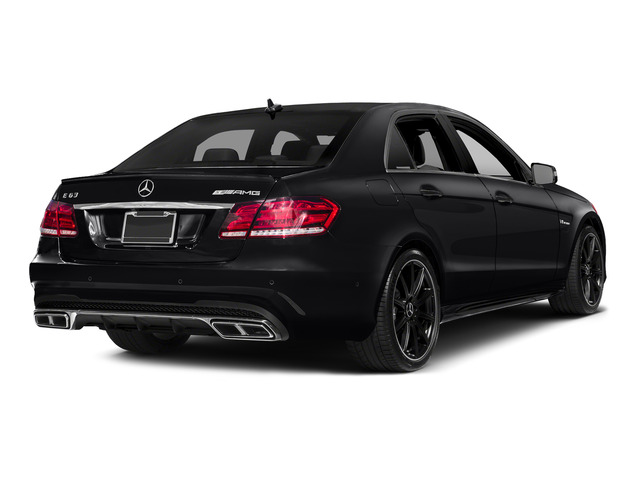 2015 Mercedes-Benz E-Class Prices and Values Sedan 4D E63 AMG AWD V8 Turbo side rear view