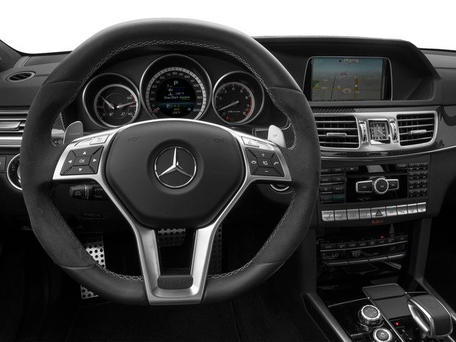 2015 Mercedes-Benz E-Class Prices and Values Sedan 4D E63 AMG AWD V8 Turbo driver's dashboard
