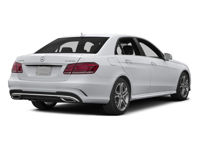 2015 Mercedes-Benz E-Class Prices and Values Sedan 4D E250 BlueTEC I4 T-Diesel side rear view