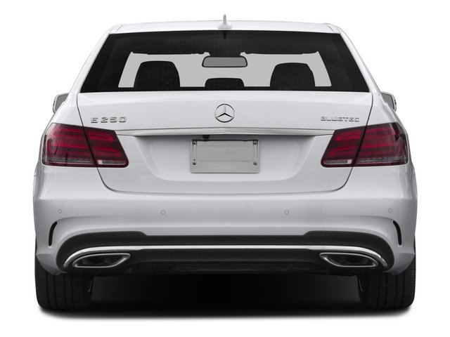 2015 Mercedes-Benz E-Class Prices and Values Sedan 4D E250 BlueTEC AWD I4 T-Diese rear view