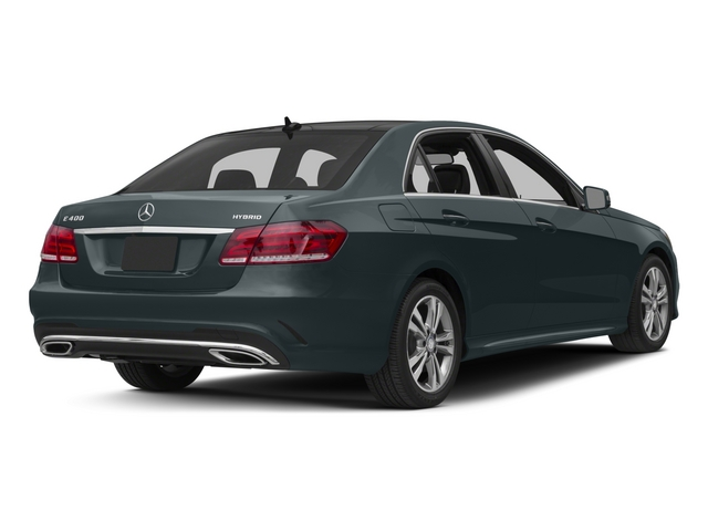 2015 Mercedes-Benz E-Class Prices and Values Sedan 4D E400 V6 Hybrid side rear view