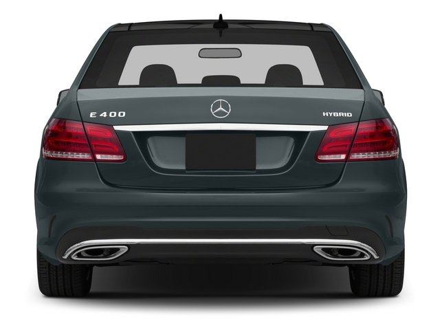 2015 Mercedes-Benz E-Class Prices and Values Sedan 4D E400 V6 Hybrid rear view
