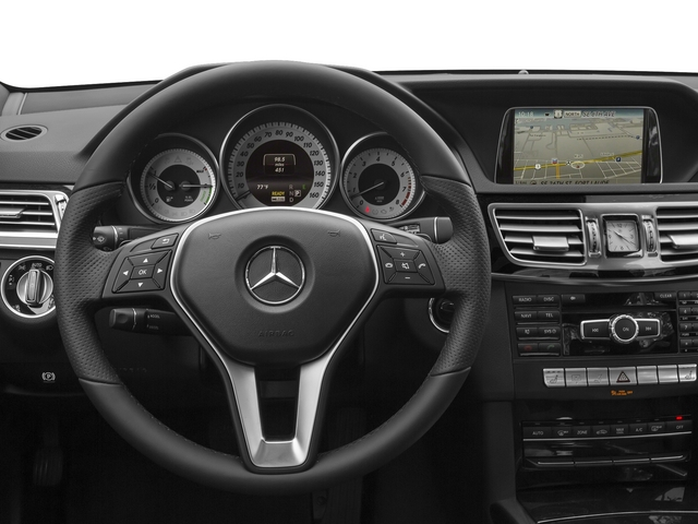 2015 Mercedes-Benz E-Class Prices and Values Sedan 4D E400 V6 Hybrid driver's dashboard