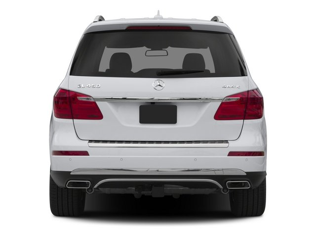 2015 Mercedes-Benz GL-Class Prices and Values Utility 4D GL450 4WD V6 rear view