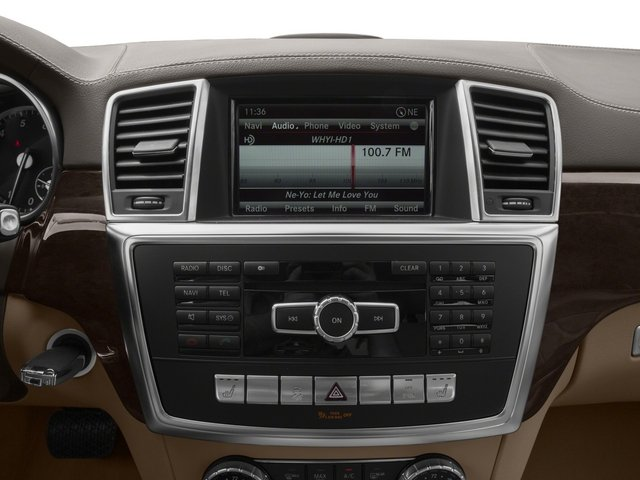 2015 Mercedes-Benz GL-Class Prices and Values Utility 4D GL450 4WD V6 stereo system