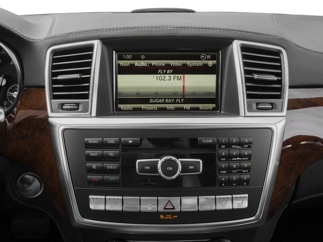 2015 Mercedes-Benz GL-Class Prices and Values Utility 4D GL550 4WD V8 stereo system