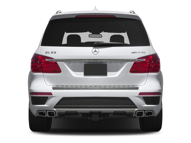 2015 Mercedes-Benz GL-Class Pictures GL-Class Utility 4D GL63 AMG 4WD V8 photos rear view