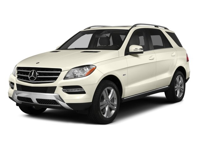 2015 Mercedes-Benz M-Class Prices and Values Utility 4D ML350 2WD V6 side front view