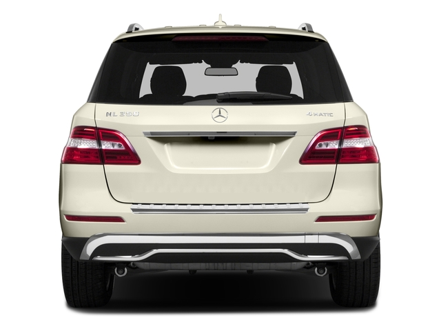 2015 Mercedes-Benz M-Class Prices and Values Utility 4D ML350 2WD V6 rear view