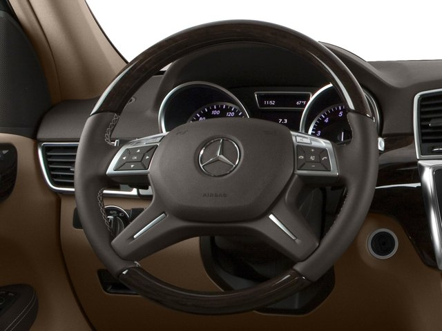 2015 Mercedes-Benz M-Class Prices and Values Utility 4D ML350 2WD V6 driver's dashboard