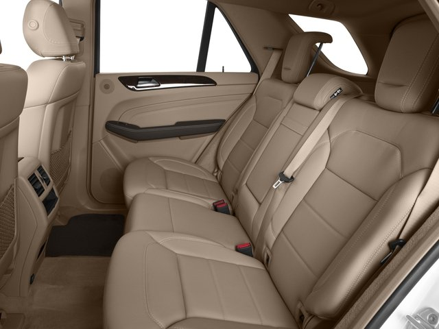 2015 Mercedes-Benz M-Class Prices and Values Utility 4D ML350 2WD V6 backseat interior