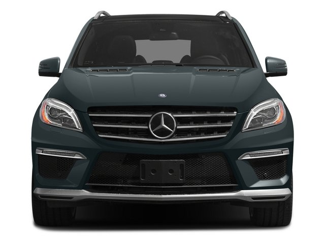 2015 Mercedes-Benz M-Class Prices and Values Utility 4D ML63 AMG AWD V8 front view