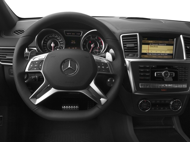 2015 Mercedes-Benz M-Class Prices and Values Utility 4D ML63 AMG AWD V8 driver's dashboard