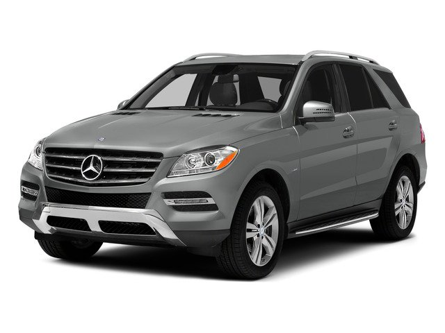 2015 Mercedes-Benz M-Class Prices and Values Util 4D ML250 BlueTEC AWD I4 T-Dsl side front view