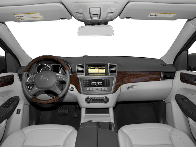 2015 Mercedes-Benz M-Class Prices and Values Util 4D ML250 BlueTEC AWD I4 T-Dsl full dashboard