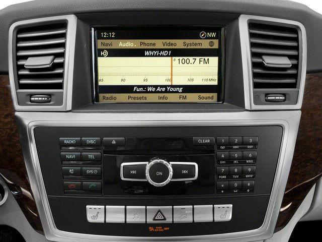 2015 Mercedes-Benz M-Class Prices and Values Util 4D ML250 BlueTEC AWD I4 T-Dsl stereo system