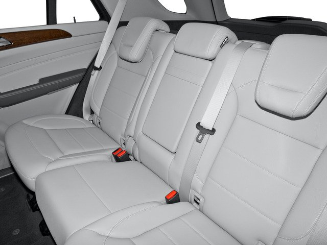 2015 Mercedes-Benz M-Class Prices and Values Util 4D ML250 BlueTEC AWD I4 T-Dsl backseat interior