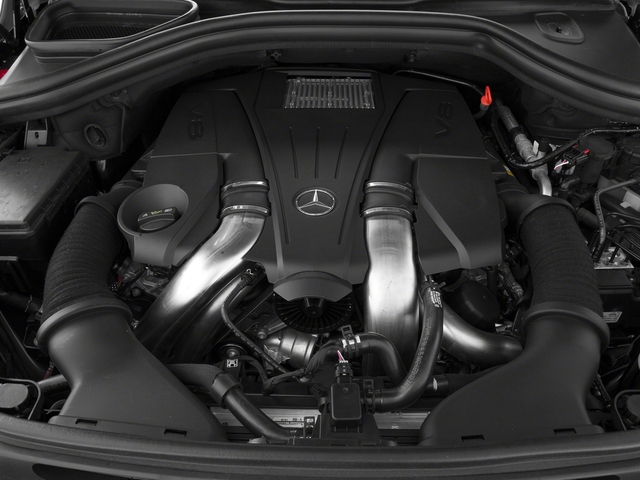 2015 Mercedes-Benz M-Class Pictures M-Class Utility 4D ML400 AWD V6 Turbo photos engine
