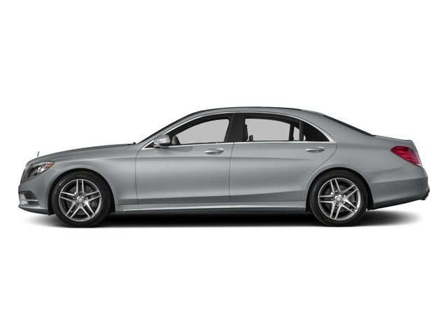2015 Mercedes-Benz S-Class Pictures S-Class Sedan 4D S550 AWD V8 photos side view