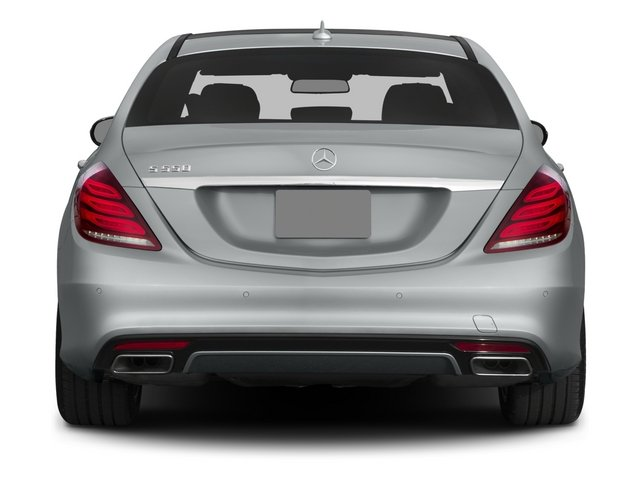 2015 Mercedes-Benz S-Class Pictures S-Class Sedan 4D S550 AWD V8 photos rear view