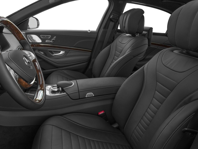 2015 Mercedes-Benz S-Class Prices and Values Sedan 4D S550 V8 front seat interior
