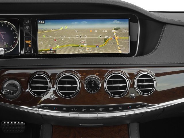 2015 Mercedes-Benz S-Class Prices and Values Sedan 4D S550 V8 stereo system