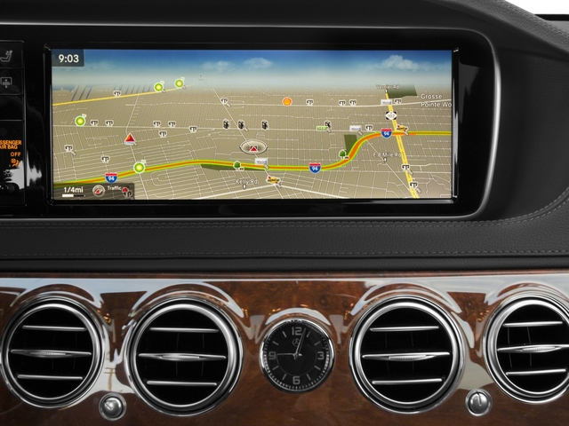 2015 Mercedes-Benz S-Class Prices and Values Sedan 4D S550 V8 navigation system