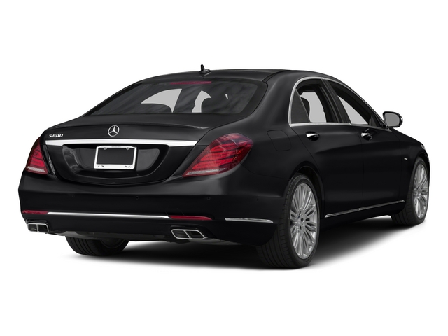 2015 Mercedes-Benz S-Class Pictures S-Class Sedan 4D S600 V12 photos side rear view