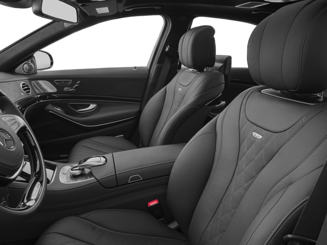2015 Mercedes-Benz S-Class Pictures S-Class Sedan 4D S600 V12 photos front seat interior