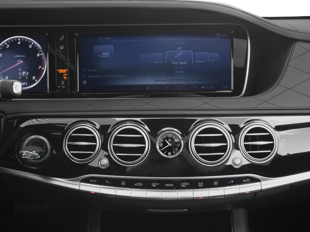 2015 Mercedes-Benz S-Class Pictures S-Class Sedan 4D S600 V12 photos stereo system