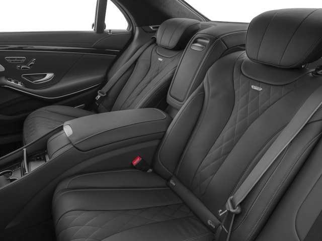 2015 Mercedes-Benz S-Class Pictures S-Class Sedan 4D S600 V12 photos backseat interior