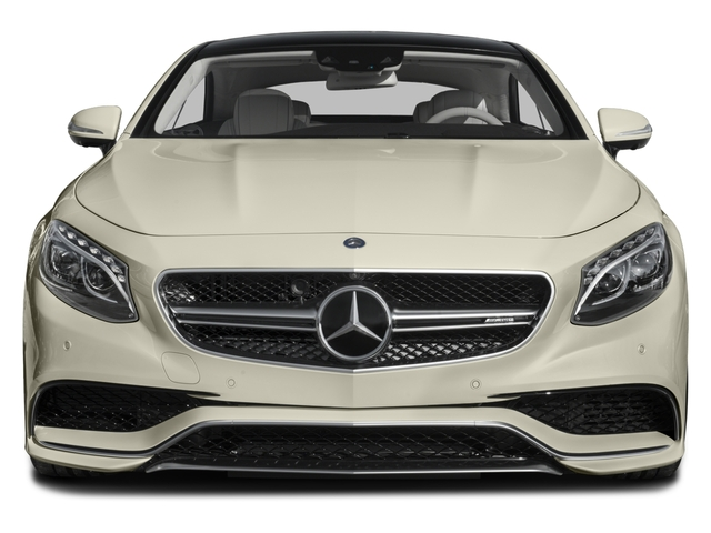 2015 Mercedes-Benz S-Class Prices and Values Coupe 2D S63 AMG AWD V8 Turbo front view