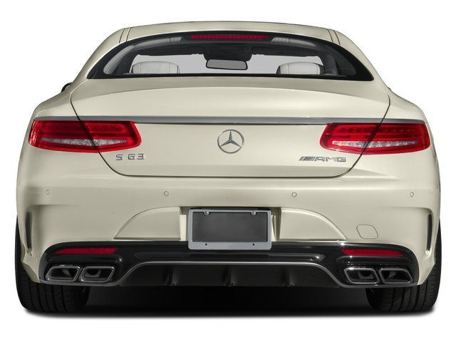 2015 Mercedes-Benz S-Class Prices and Values Coupe 2D S63 AMG AWD V8 Turbo rear view