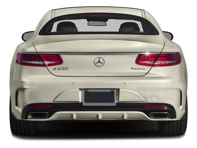2015 Mercedes-Benz S-Class Pictures S-Class Coupe 2D S550 AWD V8 Turbo photos rear view