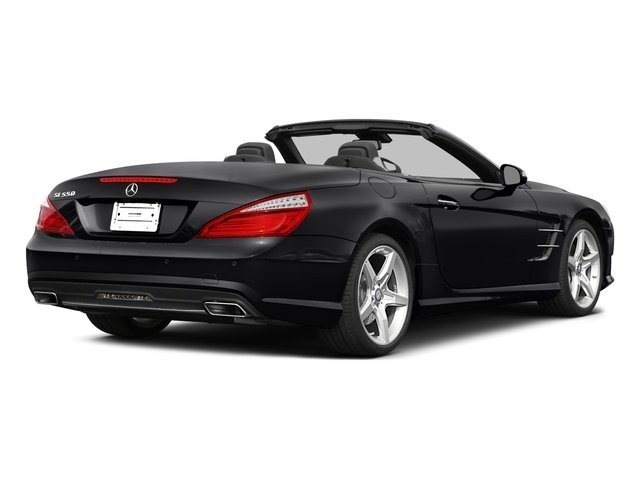 2015 Mercedes-Benz SL-Class Pictures SL-Class Roadster 2D SL550 V8 Turbo photos side rear view