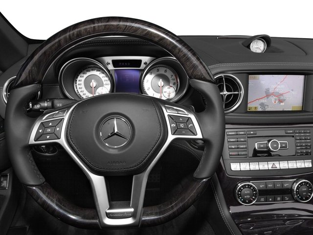 2015 Mercedes-Benz SL-Class Prices and Values Roadster 2D SL550 V8 Turbo driver's dashboard