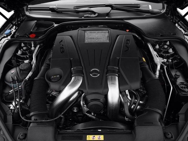 2015 Mercedes-Benz SL-Class Pictures SL-Class Roadster 2D SL550 V8 Turbo photos engine