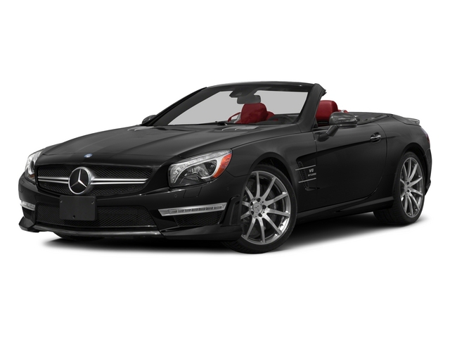 2015 Mercedes-Benz SL-Class Prices and Values Roadster 2D SL63 AMG V8 Turbo side front view