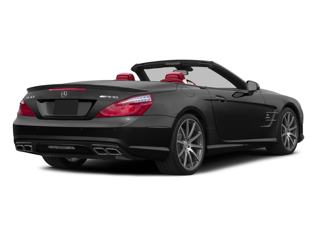 2015 Mercedes-Benz SL-Class Prices and Values Roadster 2D SL63 AMG V8 Turbo side rear view