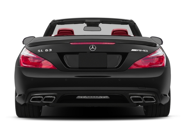 2015 Mercedes-Benz SL-Class Prices and Values Roadster 2D SL63 AMG V8 Turbo rear view