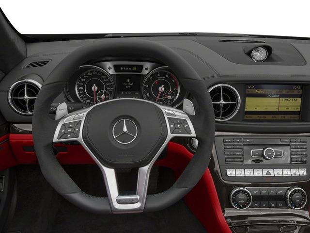 2015 Mercedes-Benz SL-Class Prices and Values Roadster 2D SL63 AMG V8 Turbo driver's dashboard
