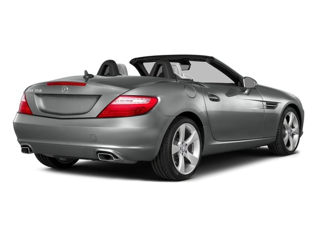 2015 Mercedes-Benz SLK-Class Prices and Values Roadster 2D SLK350 V6 side rear view