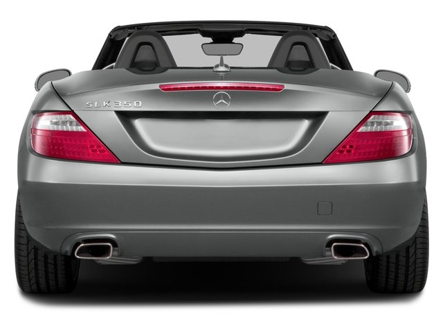 2015 Mercedes-Benz SLK-Class Prices and Values Roadster 2D SLK350 V6 rear view