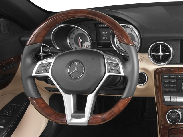2015 Mercedes-Benz SLK-Class Prices and Values Roadster 2D SLK350 V6 driver's dashboard