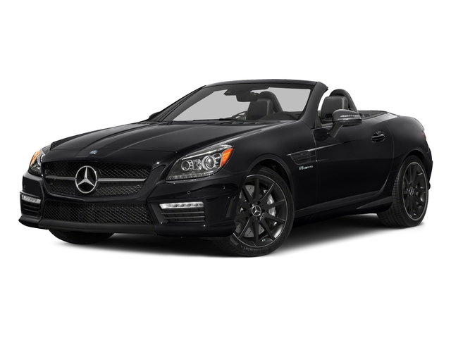 2015 Mercedes-Benz SLK-Class Prices and Values Roadster 2D SLK55 AMG V8 side front view