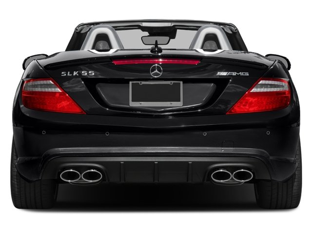 2015 Mercedes-Benz SLK-Class Prices and Values Roadster 2D SLK55 AMG V8 rear view
